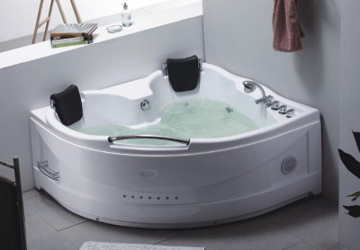 Vasche da bagno idromassaggio vasche bagno angolari - Vasche da bagno quadrate ...
