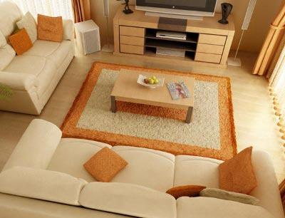 Tappeto design design arredo for Piccoli spazi