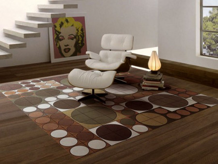 Tappeto moderno design arredo for Tappeti per soggiorno online