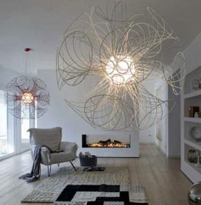 lampadari giganti : Lampadari grandi di design: una grande soluzione.