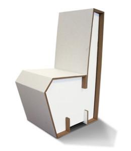 Mobili e arredamento in cartone - Mobili in cartone design ...